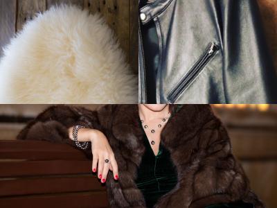 皮革製品、毛皮製品、ファー、手袋、ムートン
