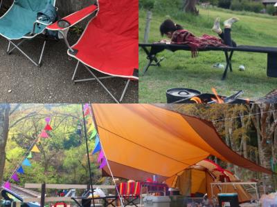 キャンプ用品、アウトドア品、チェア・手袋、コット
